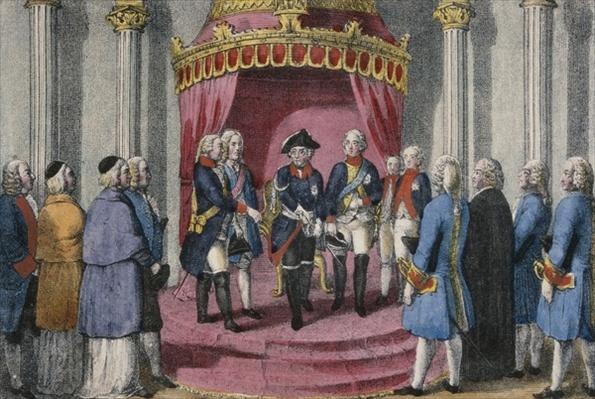 Homage of the Silesian Estates, 7 November 1741