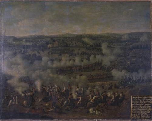The Battle of Rossbach, 1757