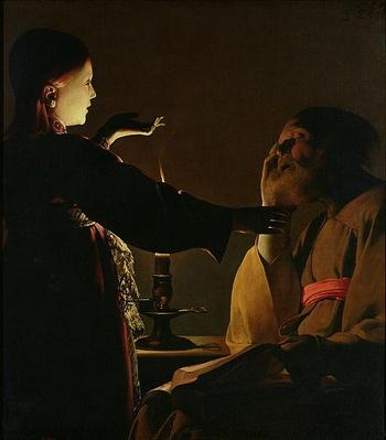 'The Appearance of the Angel to St. Joseph', also known as 'The Dream of St. Joseph',, 1652