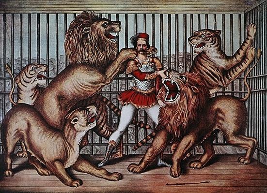Lion Tamer, c.1880