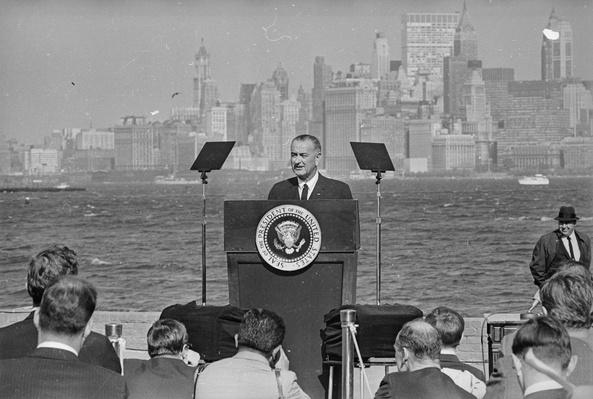 Lyndon Johnson | U.S. Immigration | 1840's to present | U.S. History