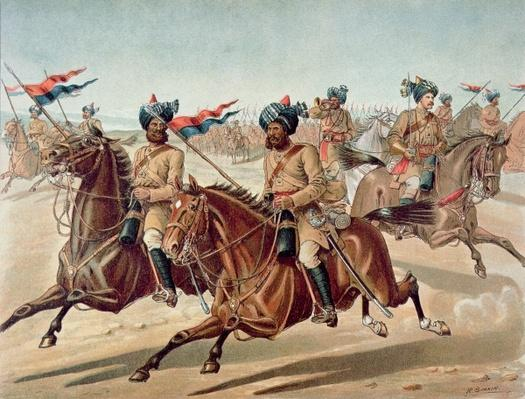 Scouts of the 10th Bengal Lancers