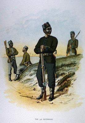 The 3rd Goorkas, 1888