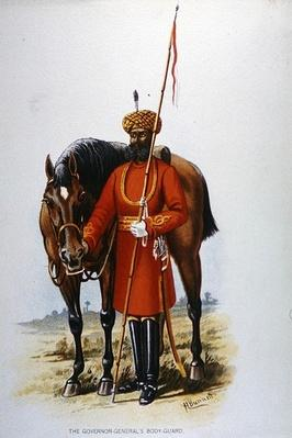 The Governor-General's Bodyguard, Calcutta, 1888