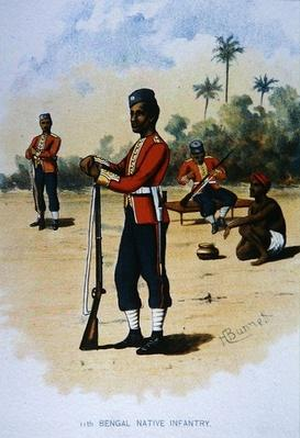 The 11th Bengal Native Infantry, 1888