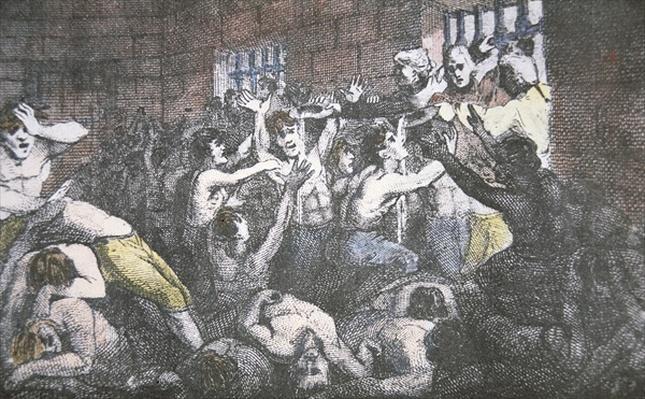 The Black Hole of Calcutta, 18th June 1756