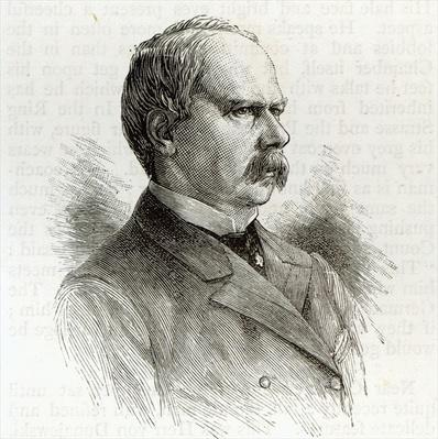 Count Kalnoky, the Minister of Foreign Affairs for Austria, from 'Leisure Hour', 1891