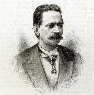 Count Taafe, from 'Leisure Hour', 1891