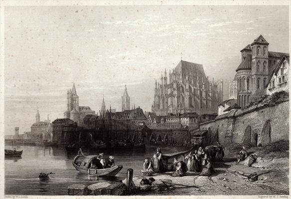 The City of Cologne, engraved by M.J. Sterling