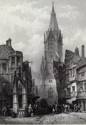 Reutlingen, engraved by J.J. Crew, printed by Cassell & Company Ltd.