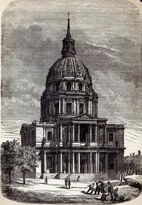 Church of the Invalides, containing the Tomb of Napoleon, Paris