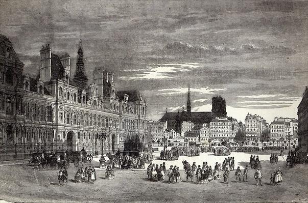 Hotel de Ville, Paris, 1847