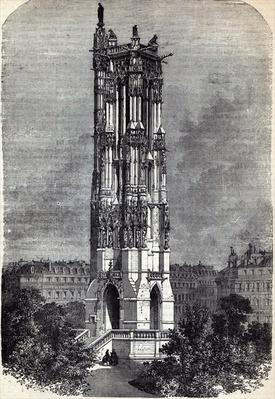 Church of St. Jacques de la Boucherie, Paris, which held sittings of the National Assembly