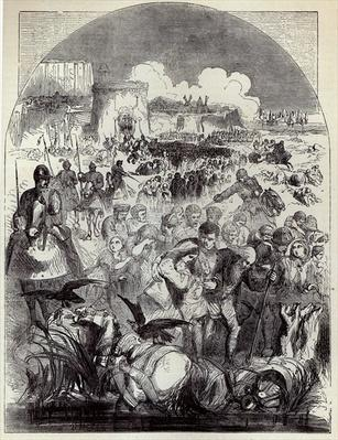 Siege of Calais: Departure of the Citizens