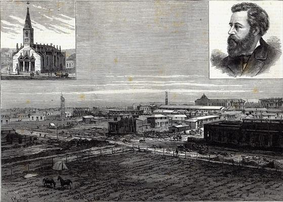 The new city of La Plata, Buenos Ayres, the capital of the Argentine Republic, from The Illustrated London News, 23rd August 1884