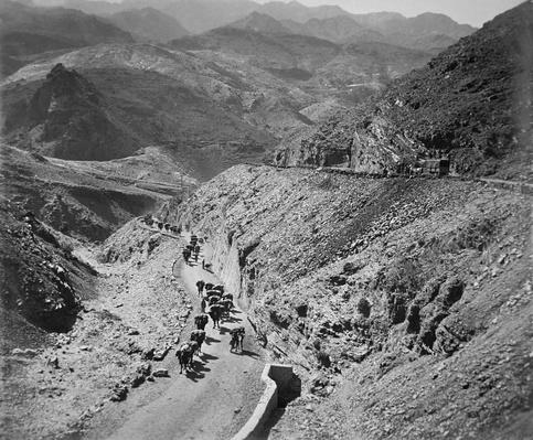 The Khyber Pass, North West Frontier of India, 1919