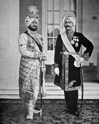 Two Sikh Princes of the Punjab, 20th July 1918