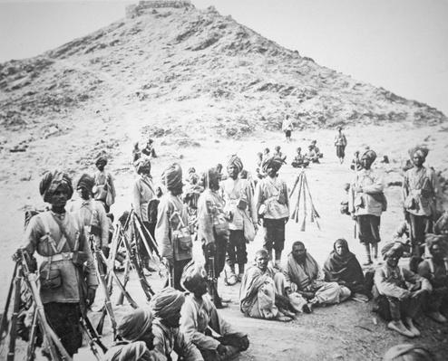 Rattrays Sikhs with Pathan Prisoners of War