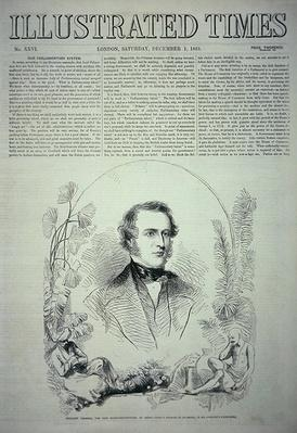 Viscount Canning, the New Governor-General of India, illustration from 'The Illustrated Times', 1st December 1855