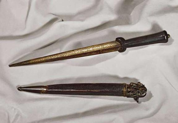 Dagger belonging to Francois Ravaillac