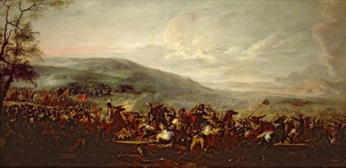 Battle between the Hungarians and Turkish