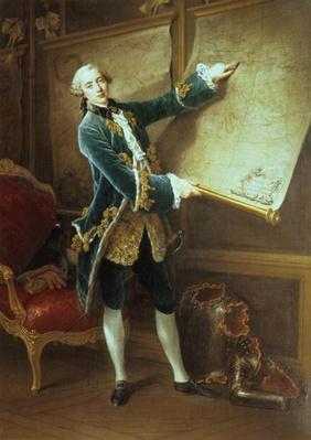 The Comte de Vaudreuil, 1758