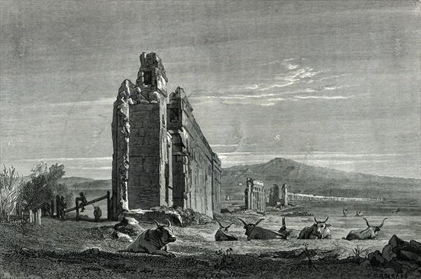 Ruins of the Aqueduct of Appius Claudius, Rome