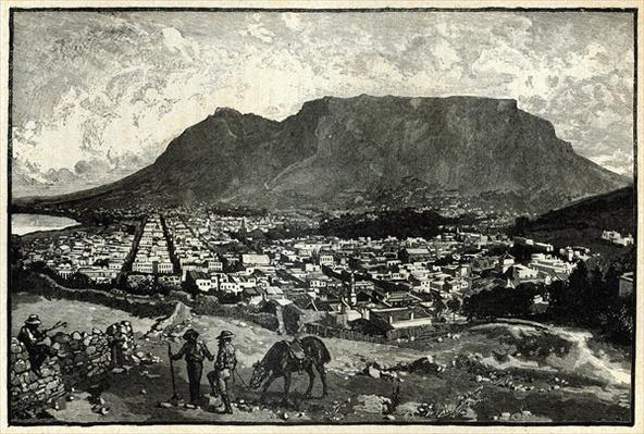 Cape Town, from 'The Life and Times of Queen Victoria' by Robert Wilson