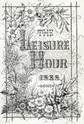 The Leisure Hour, London, 1888
