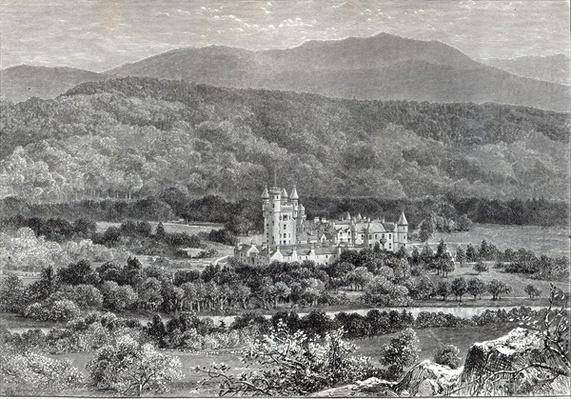 Balmoral, from 'Leisure Hour', 1888