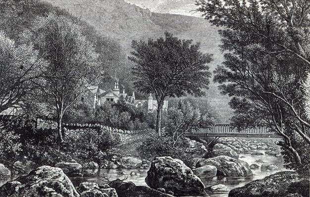 Near Lynmouth, from 'Leisure Hour', 1888