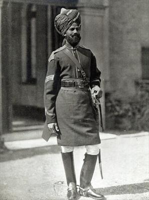 Dafadar of the 1st Bengal Cavalry, 1896