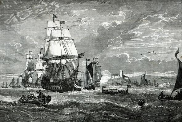 The First Fleet of the East India Company leaving Woolwich in 1601