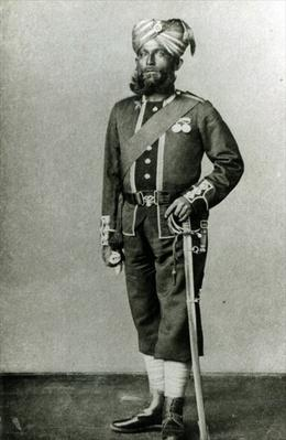 Bengal Infantryman, c.1900
