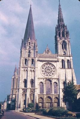 Cathedral At Chartres | Monuments and Buildings