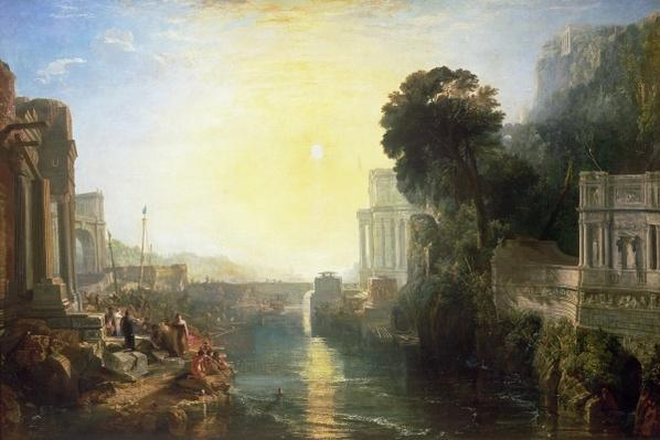 Dido building Carthage, or The Rise of the Carthaginian Empire, 1815
