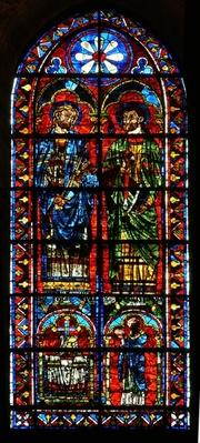 St. Gervais and St. Protus with a donor priest