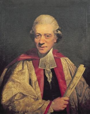 Portrait of Charles Burney, c.1781