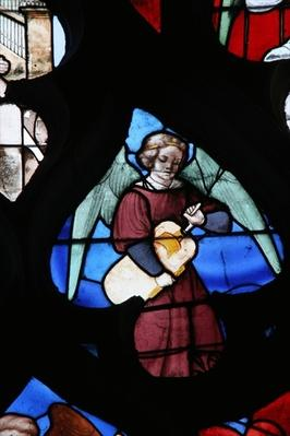 Window depicting the Musical Angel