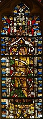 Window depicting St. John on the Tree of Jesse