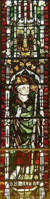 Window depicting St. Blaise
