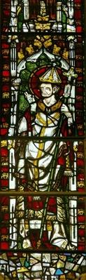 Window depicting a Pope