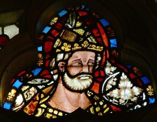 Window depicting St. Urban