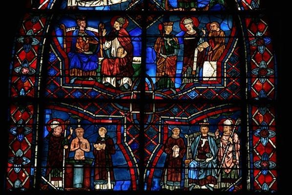 St. Remi baptises le Roi Clovis