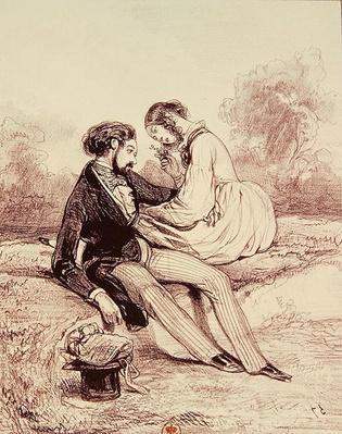 'Les Etudians de Paris', 1839