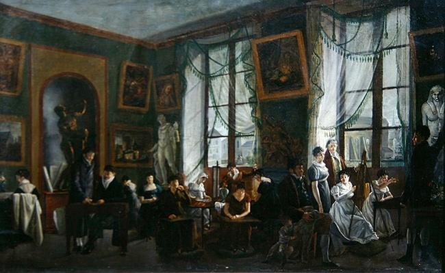 The Studio of Madame Haudebourt-Lescot