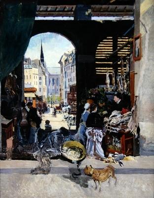 The Carmes Market, Rue Maubert