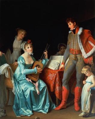 La Duchesse Abrantes et le General Junot