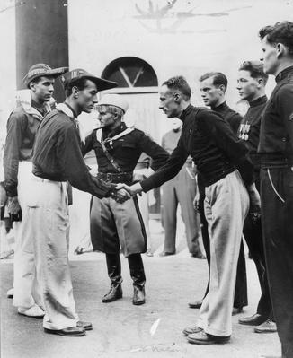 Fascist Handshake | World War II