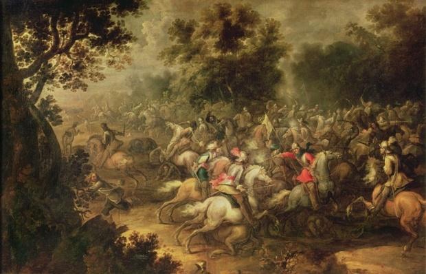 Battle of the cavalrymen